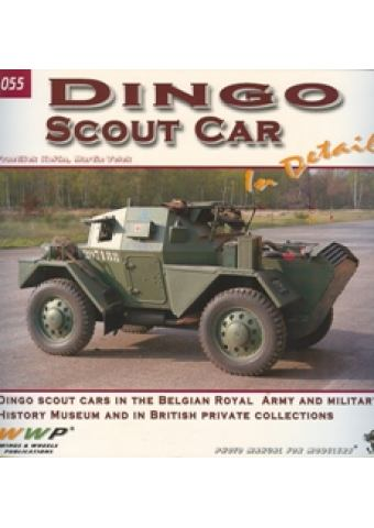 Dingo Scout Car in detail, Wings & Wheels Publications (WWP)