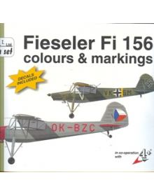 Fiesiler Fi 156 Colours & Markings 1/48, Mark I