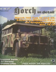 Horch in detail, WWP
