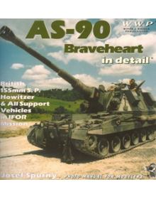 AS-90 Braveheart in detail, Wings & Wheels Publications (WWP)