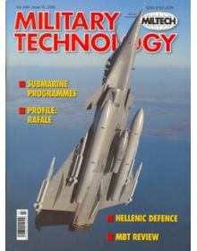 Military Technology 2006 Vol XXX Issue 10