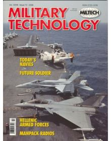 Military Technology 2008 Vol XXXII Issue 10