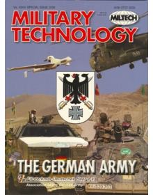 Military Technology 2008 Vol XXXII Special Issue The German Army