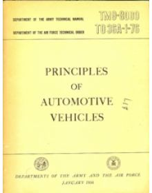 PRINCIPLES OF AUTOMOTIVE VEHICLES (TM9-8000 TO 36A-1-76)