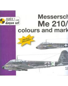 Messerschmitt Me 210 / 410 Colours & Markings 1/72, Σειρά βιβλίων MARK I, 4+ Publications