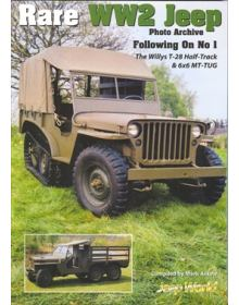 RARE WW2 JEEP PHOTO ARCHIVE - FOLLOWING ON No 1