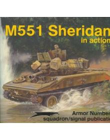 M551 SHERIDAN IN ACTION