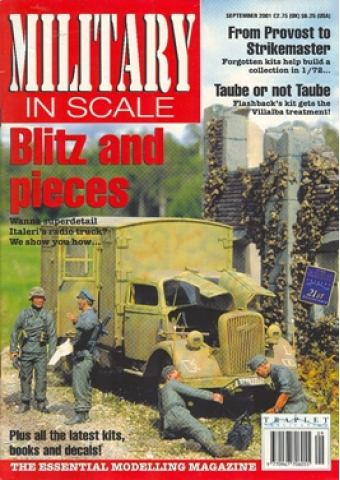 MILITARY IN SCALE 2001 / 09