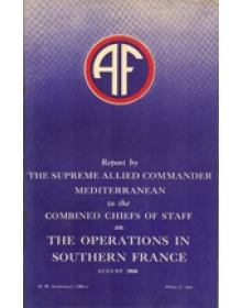 THE OPERATIONS IN SOUTHERN FRANCE - AUGUST 1944