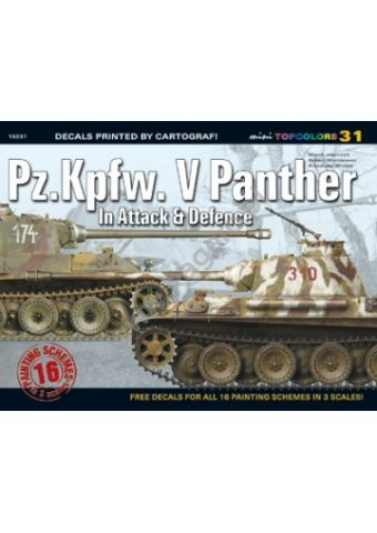 Pz.Kpfw. V Panther in Attack & Defence, Kagero