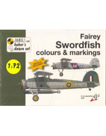 Fairey Swordfish Colours & Markings 1/72, Mark I