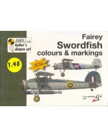 Fairey Swordfish Colours & Markings 1/48, Mark I