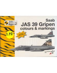 SAAB JAS 39 GRIPEN COLOURS & MARKINGS 1/72