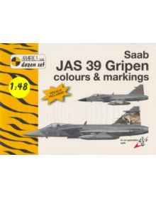Saab JAS 39 Gripen Colours & Markings 1/48, Mark I