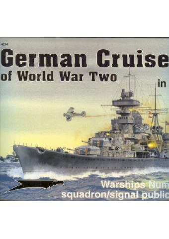 GERMAN CRUISERS OF WORLD WAR TWO IN ACTION