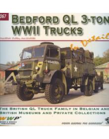 Bedford QL Trucks in detail, Wings & Wheels Publications (WWP)
