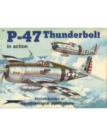 P-47 THUNDERBOLT IN ACTION (no. 67)