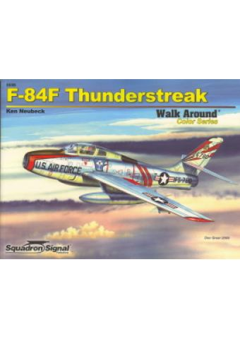 F-84F Thunderstreak Walk Around