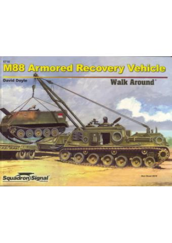 M88 Armored Recovery Vehicle Walk Around, Squadron / Signal Publications
