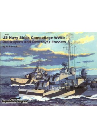 US Navy Ships Camouflage WWII: Destroyers and Destroyer Escorts, Squadron