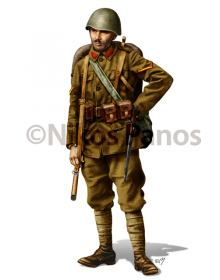 Infantry Corporal, Greek Army 1940-1941