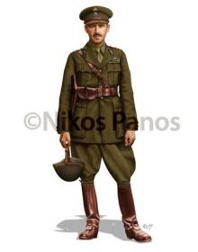 Artillery Colonel, Greek Army 1940-1941