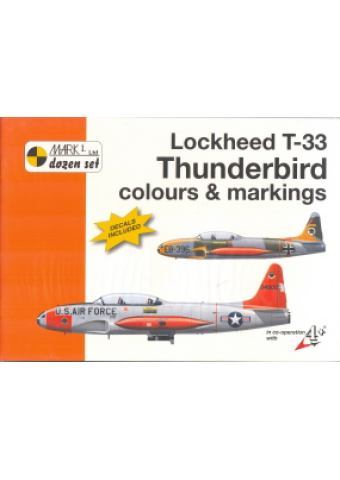 Lockheed T-33 Thunderbird Colours & Markings 1/48