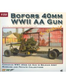 Bofors 40mm WWII AA Gun in Detail, Wings & Wheels Publications (WWP)