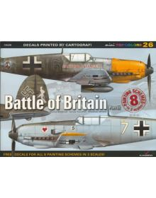 Battle of Britain Part III, miniTopcolors no 26, Kagero Publications
