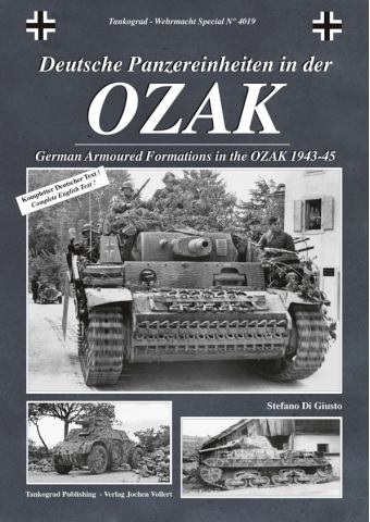 German Armoured Formations in the OZAK 1943-45, Tankograd