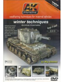 Weathering Techniques for Invernal Vehicles, Mig Jimenez, AK Interactive
