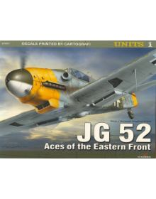 JG 52 - Aces of the Eastern Front, Units no 1, Kagero Publications