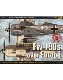 Fw 190s over Europe Part I, miniTopcolors no 35, Kagero Publications