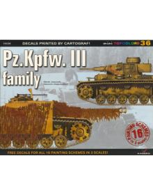 Pz.Kpfw. III Family, miniTopcolors no 36, Kagero Publications