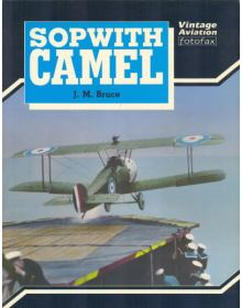 Sopwith Camel, Vintage Aviation Fotofax series, J. M. Bruce