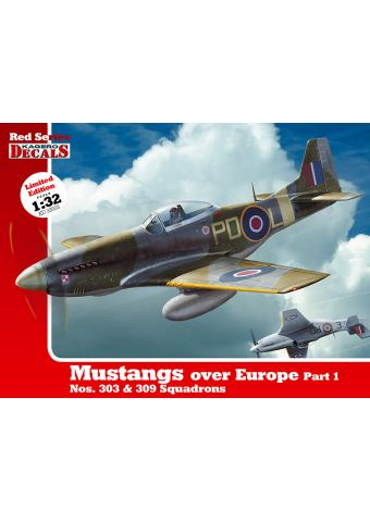 Mustangs over Europe Part I - 1/32, Red Series 03, Kagero Publications
