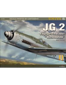 JG 2. Jagdgeschwader Richthofen, Units no 5, Kagero Publications