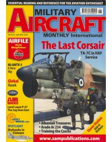 Military Aircraft Monthly Vol 09 Issue 06, TA-7C Corsair in HAF Service, Arado Ar 234