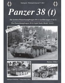 Panzer 38 (t), Wehrmacht Special No 4012, Tankograd Publishing