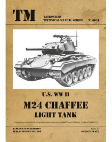 U.S. WW II M24 Light Tank, Technical Manuals No 6024, Tankograd