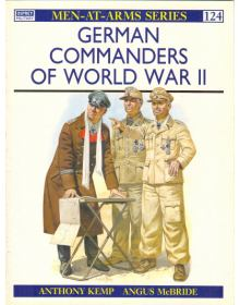 German Commanders of World War II, Men at Arms No 124, Osprey