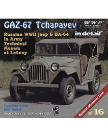 GAZ-67 Tchapayev in Detail, Wings & Wheels Publications (WWP)