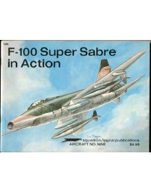 F-100 Super Sabre in Action