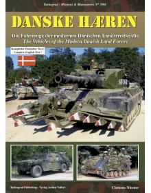 Danske Haeren - The Vehicles of the Modern Danish Land Forces, Tankograd Publishing