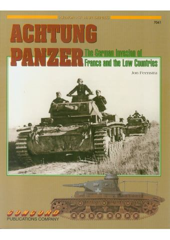 Achtung Panzer, Armor at War no 7041, Concord