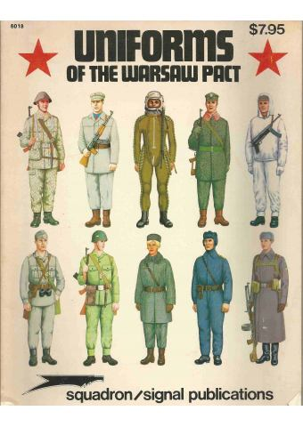 Uniforms of the Warsaw Pact, Squadron / Signal