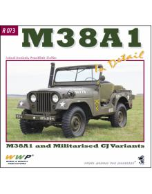 M38A1 Jeeps in Detail, WWP