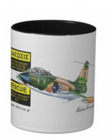 TF-104G Starfighter Mug