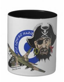 A-7 Corsair Mug ''Fly Low, Hit Hard''