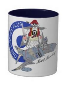 F-4E Phantom ''One Cophee Plus'' Mug